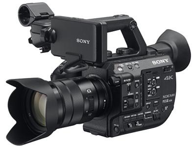 索尼 FS5M2K 4K专业数码摄像机 存储介质:闪存式类型:轻巧便携,高端专业,高速摄像机机身容量:其他清晰度:4K功能:超长续航像素:601万以上