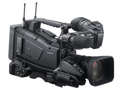 索尼  X580KC  肩扛式摄录一体机/专业摄像机 存储介质:闪存式类型:高端专业机身容量:其他清晰度:HD高清功能:取景器像素:301-600万