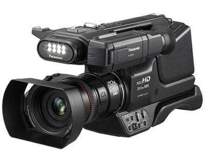 松下  MDH3 肩扛式数码摄像机  类型:高端专业,婚庆摄像机机身容量:其他清晰度:其他  功能:WIFI像素:601万以上