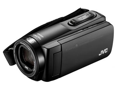 JVC  R465  高清数码摄像机 功能:触摸屏,高音质,三防存储介质:闪存式类型:轻巧便携,运动摄像机机身容量:其他像素:601万以上清晰度:HD高清变焦:50倍以上
