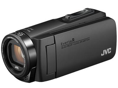 JVC  R475  数码摄像机 存储介质:闪存式类型:轻巧便携机身容量:其他清晰度:HD高清功能:触摸屏,四防像素:其它