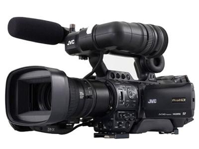 JVC  HM850  肩扛式摄录一体机 类型:高端专业机身容量:其他清晰度:HD高清功能:高音质像素:其它