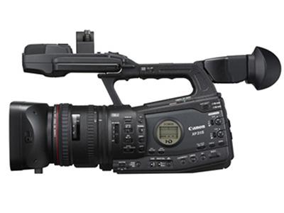 佳能XF315 专业高清数码摄像机 存储介质:其它类型:婚庆摄像机机身容量:其他清晰度:4K功能:WIFI像素:其它