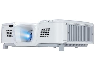 """優派 PG800X 1024x76852005000;11.3X8.5""""輸入接口 VGA(輸入) : x2 兼容色差信號S-Video 輸入 : x1音頻(輸入) : 3.5mmx2(,Audio2支持MIC),RCA(L+R)x1 HDMI 輸入 : x2 Type A USB : x 1,供電 Mini USB : x1, 軟件升級& 遙控鼠標 Micro USB : x 1,供 電輸出接口 RGB(輸出) : Db-15 (x1) 音頻(輸出) : 3.5mm(x1)控制接口 LAN (RJ45) :"""