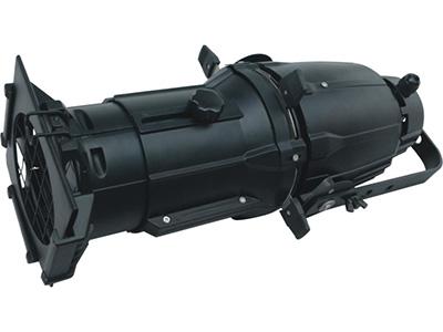 """LED200W成像灯  YR-2001AL """"额定电压 :AC90-260V  50-60Hz            总功耗 :200W                     发光角度: 19°  调光:0~100\% 线性调光         频闪 :1-25次/秒                     焦距: 可手动调节            技术: 高质量光学系统,玻璃反光杯 机体: PVC        机箱颜色: 黑色 机箱特征:体积小,重量轻                     控制系统:DMX,自走模式,"""