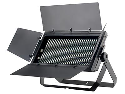 """616颗LED平板会议灯  YR-W616WW/PW/CW  """"1、技术参数: 光源参数:    光源:616x0.5W(暖白3200K/正白6500K/冷白7500K) 光束角度:110度 出光角度:120度 控制参数: 矩阵:2x2 频闪:0-30Hz 调光:标准模式+4种调光曲线 控制信号:DMX512 控制通道:9通道、7通道、2通道(可切换) 内置编程:5种频闪+2种自走+2种声控 操作模式:DMX512、手动、主从、声控 冷却方式:温控风扇智能散热 温控:当光源温度达到80度时,光源最大功率降为50\%;当温度再次下降到65"""