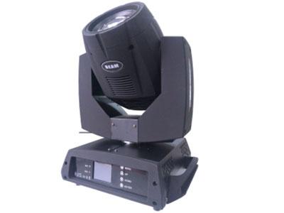 """三合一摇头光束灯 230W  YR-230BSW """"工作电压:AC110V~240V,50/60HZ 功率:400W 灯泡:7R;230W 频闪:1-10次/秒 色温:8000K 颜色:14个颜色+白光孔及彩虹效果 固定图案盘:16个图案+白孔 旋转图案盘:7个图案+白光孔 扫描:水平540度,垂直270度,采用光电复位纠错 效果:不开放大镜可出光束效果,打开放大镜可出图案效果"""