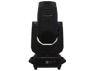 """380W光束灯  YR-380B """"技术指标  工作电压:AC110V-240V 频率:50/60HZ   功率:530W  灯泡:380W 频闪:1-13次/秒,脉冲频闪+效果频闪+随机频闪 色温:7800K 颜色:14个颜色+白光孔(有半色效果) 六色盘:1个,配合棱镜可出六彩色棱镜效果 图案:10个固定图案+白光+1个效果图案 雾化:1个独立的雾化片 扫描:水平540度,"""