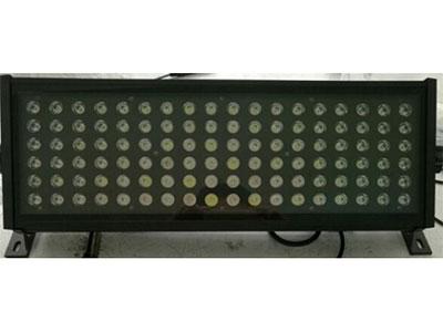 "3W108颗LED天排灯  YR-988KL ""技术参数: 1.电压:AC-220V,50HZ 2.总功率:350W 3.光源:大功率LED灯珠,RGBW,108×3W 4.调光功能:0-100\%电子调光,程序选色, 5.颜色效果:RGBW无限混色 6.通道数量:8CH  7.控制模式:国际标准DMX-512,主从机模式,声控模式,自走模式。 8.抗电强度:1.5KW 9.绝缘电阻:2MΩ 10.操作非常简单,人性化设计,调光无闪烁、抖动现象等。可适应摄影,照相、电视台等对灯光要求严格的场合。 ★资质证明: 获得国家高新技"