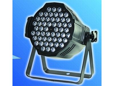 公模LED帕灯  YR-PAR54T 电压:AC110V-220V,50-60Hz,功率::3W*54颗三合一 控制模式:声控,自走,DMX512主从,DMX通道:6通道(数码)带四根线的