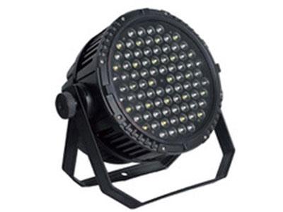 """90颗防水帕灯  YR-IP0390S """"工作电压:AC110V-240V 频率:50/60HZ 额定总功率:300W 灯珠功率:3W/颗 灯珠数量:90颗(R20 G24 B24 W22) 出光角度: 25度 控制信号:DMX512 控制通道:8CH 操作模式:DMX512、手动、自走、声控 防护等级:IP65 净重:14.85KG 灯体尺寸:40*33*36cm"""""""