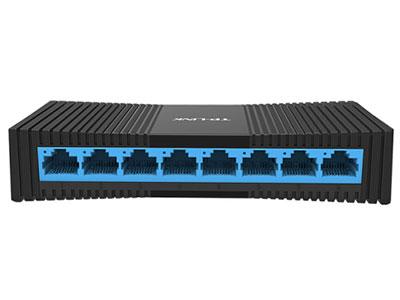 TP-LINK 8口百兆交换机 监控网络网线分线器 家用宿舍分流器 TL-SF1008+
