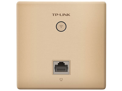 TP-LINK 1200M 5G双频无线AP 86型面板 企业级酒店别墅wifi接入 千兆端口POE供电AC管理AP1202GI-PoE