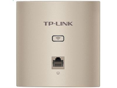 TP-LINK 1200M双频无线AP 86面板式入墙式 企业级酒店别墅wifi无线接入点 PoE供电AC管理AP1202GI-PoE