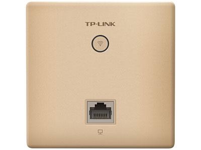 TP-LINK TL-AP450I-PoE 450M无线86型面板式AP 企业级酒店别墅wifi接入 POE供电 AC管理