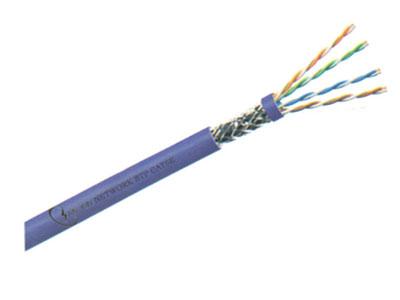 三信科技 超五类4对双屏蔽电缆  SFTP CAT5E单股