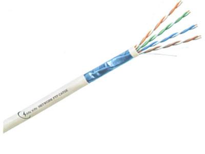 三信科技  超五类4对屏蔽电缆 FTP CAT5E 多股