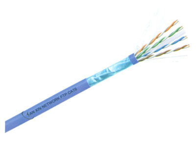 三信科技  六类四对屏蔽电缆(单股) FTP CAT6