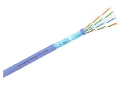 三信科技  六类四对屏蔽电缆(多股) FTP CAT6