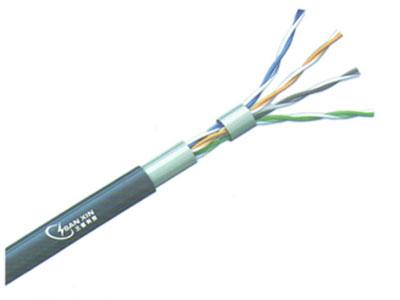 三信科技  超五类4对非屏蔽电缆UTP  CATSE单股阻水电缆