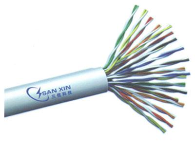 三信科技 大对数非屏蔽电缆(单股) UTP CAT3