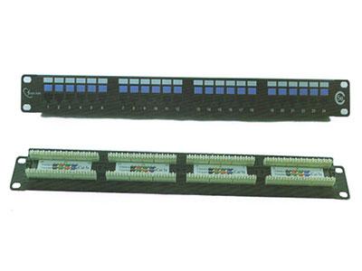 三信科技  超五类非屏蔽插座配线架