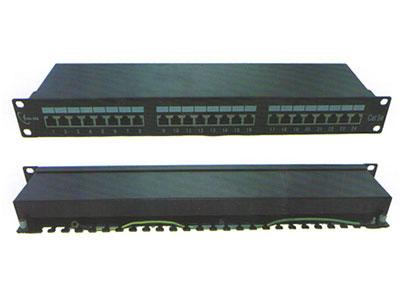 三信科技  超五类屏蔽插座配线架