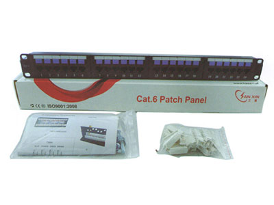 三信科技  六类屏蔽插座配线架