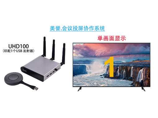 UHD100 USB无线协助会议系统