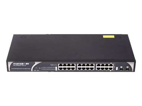 睿易RG-S1824GT-ES-V2 綠色節能非網管交換機