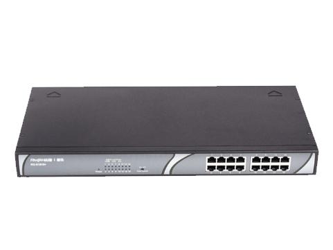 睿易RG-S1816+綠色節能非網管交換機