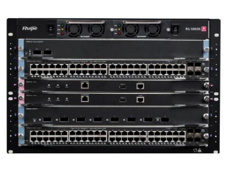 锐捷 RG-S8600系列高密度多业务IPv6核心路由交换机