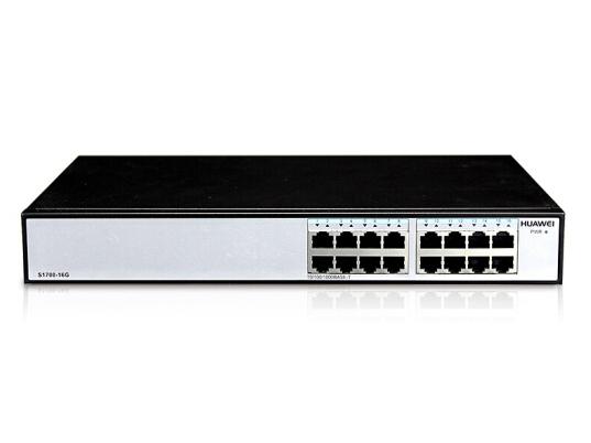 华为 S1700-16G 企业级交换机 16口千兆以太网