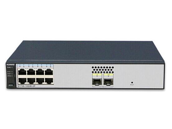 华为 S1720-10GW-2P 企业级交换机WEB网管8口千兆以太网