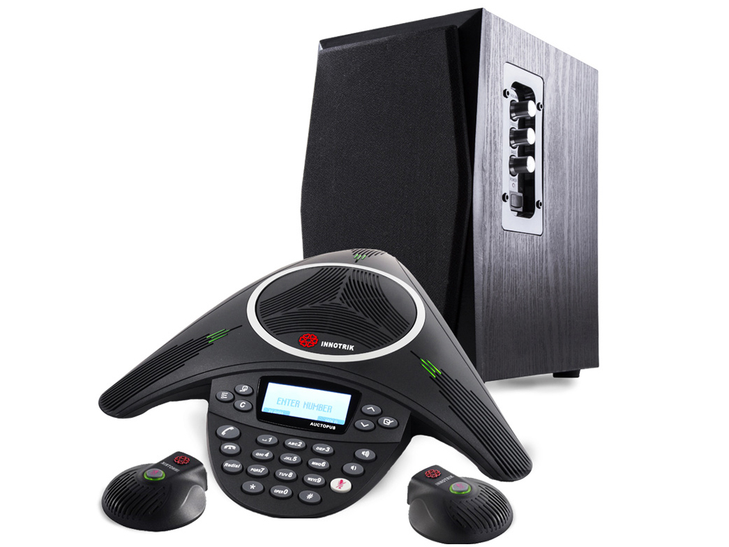 音絡 PSTN 總裁擴展型 可外接音箱的會議電話