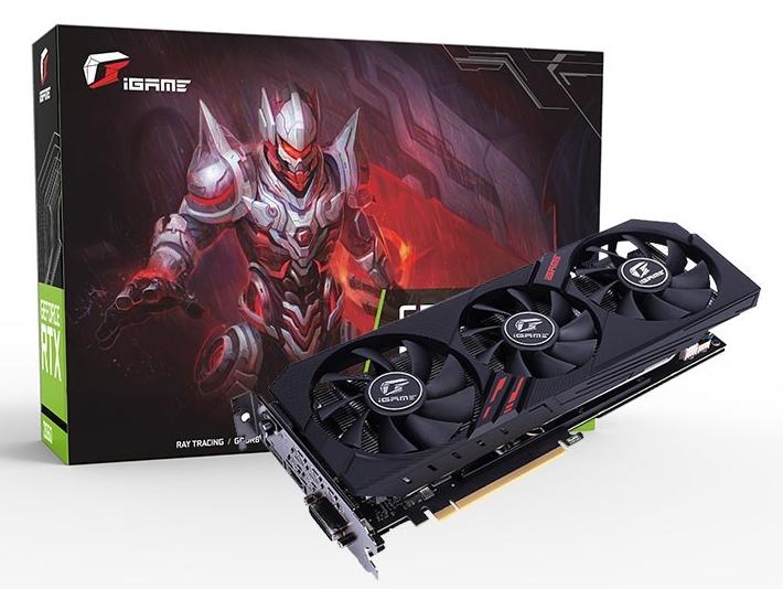 七彩虹显卡/iGame GeForce GTX 1660 SUPER Ultra 6G