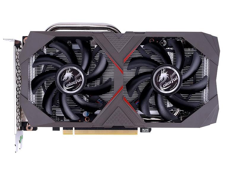七彩虹显卡/网驰 GeForce GTX 1660 电竞 6G