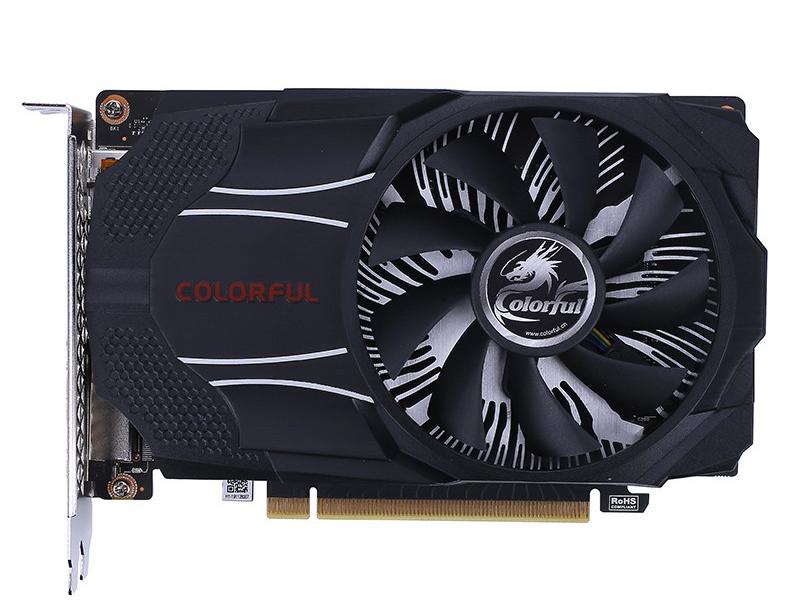 七彩虹显卡/ GeForce GTX 1650 灵动鲨单 LE 4G