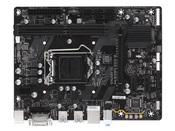 技嘉主板/B250M-D2VX-SI(工包)