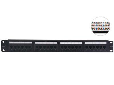 一舟  超五类非屏蔽插座配线架 ●性能超越了ANSI/TIA 568-.2和ISO/IEC 11801对超五类标准的规定 ●标准19英寸机架式安装,采用塑料面板、钢质底板整体结构,保证产品的机械强度●插座特殊设计,可防电话头误插而引|起的低针现象