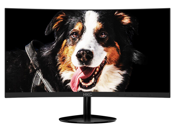 HKC显示器/C240(23.6 黑 R1800三星曲面 无边框 超薄 1920*1080 178/178 60hz VGA+HDMI)