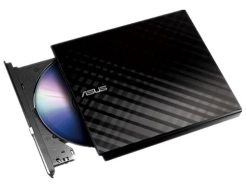 华硕刻录机/菱飞SDRW-08D2S-U(黑/外置/8倍速/USB2.0/移动光驱/兼容苹果系统)