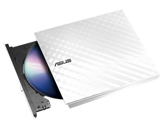 华硕刻录机/菱飞SDRW-08D2S-U(白/外置/8倍速/USB2.0/移动光驱/兼容苹果系统)