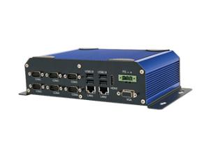 汇联 HNGK-1900 嵌入式工控机 无风扇工业电脑 英特尔j1900 DDR3 4GB内存 VGA+HDMI 输出