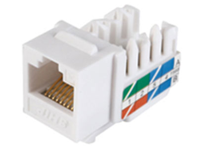 一舟 超五类非屏蔽信息插座模块