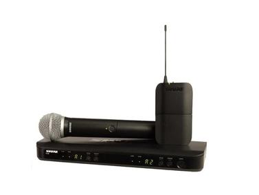舒爾 SHURE BLX 系列 BLX1288/PG185 具有雙無線通道和QuickScan頻率選擇功能,配備耐用型PG185可佩戴領夾式話筒,適用于演講應用