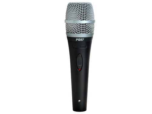 舒爾 PG57 話筒 傳感器類型: 動圈 拾音模式: 心形頻率響應: 50 Hz - 15 kHz