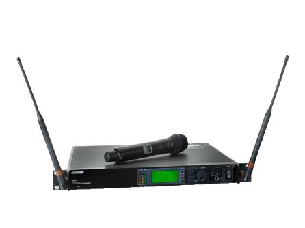 舒爾 SHURE UHF-R無線系統 選用的UA888網絡接口系統,它能讓您用PC同時遠程監控多個接收機