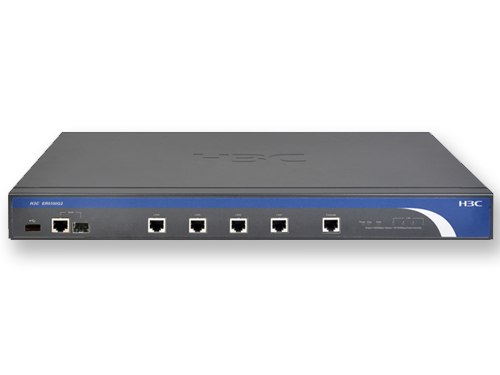 H3C ER5100G2 路由器 1Combo WAN,4GE LAN,NAT,WEB网管,状态检测防火墙,19英寸