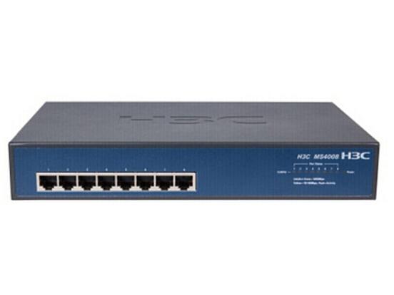 H3C SMB-MS4008-PWR 8口千兆非网管二层POE监控专用交换机